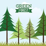 Forest design Royalty Free Stock Images