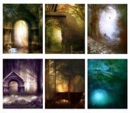 Forest Dreams _02 royalty-vrije illustratie
