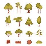 Forest Elements Set libre illustration