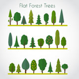 Forest elements Stock Photography