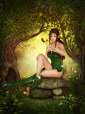 Forest Elf Photo libre de droits