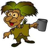 Forest Elf stock illustratie