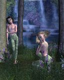 Forest Elves Royalty Free Stock Photos