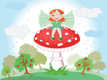 Forest fairy Stock Photography