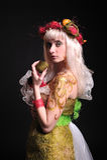 Forest fairy image. Studio shot Royalty Free Stock Photo