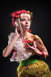 Forest fairy image. Studio shot Stock Photos