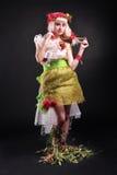 Forest fairy image. Studio shot Stock Photo