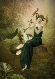 Forest Fairy Tale Photo libre de droits