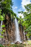 Forest Falls. Plitvice, National Park, Croatia royalty free stock images