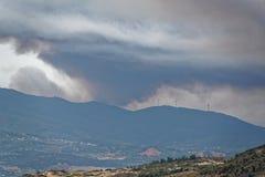 Forest Fire Imagenes de archivo