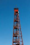 Forest Fire Lookout Tower Royaltyfria Bilder