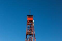 Forest Fire Lookout Tower Fotografering för Bildbyråer