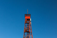 Forest Fire Lookout Tower Stock Image