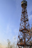 Forest Fire Lookout Tower Stock Photos