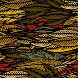 Forest Floor full of Autumn Leaves. royalty free illustration
