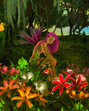 Forest Flower Fairy Stock Images