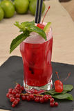 Forest fruit cocktail. Royalty Free Stock Photo