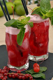 Forest fruit cocktail. Royalty Free Stock Photos