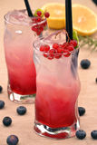 Forest fruit cocktail. Stock Photography