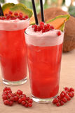 Forest fruit cocktail. Royalty Free Stock Photography