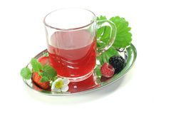 Forest fruit tea Royalty Free Stock Photography