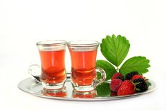 Forest fruit tea Stock Photos