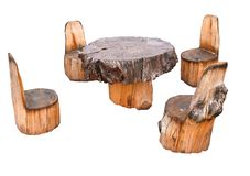 Forest furniture Stock Photos
