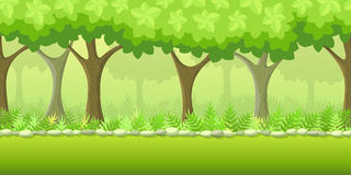 Forest Game Background Image stock
