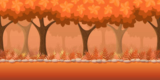 Forest Game Background Photo stock