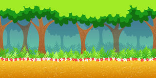 Forest Game Background Royalty Free Stock Photos