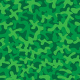 Forest green camouflage texture Stock Photography