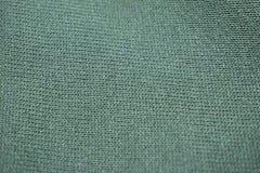 Forest Green Factory Knit Fabric texturCloseup arkivbild
