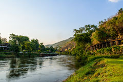 Forest green river kwai Stock Images