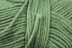 Forest Green Yarn Texture Close  Photo libre de droits