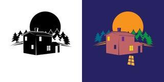 Forest House Image libre de droits