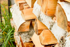 The forest industry, lumber for construction. Royalty Free Stock Image