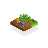 Forest job icon Stock Image