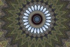 Forest Kaleidoskop Background Lizenzfreie Stockfotografie