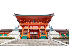 Forest at Kiyomizu-Dera Temple in Kyoto Royalty Free Stock Images