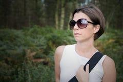 forest lady out walk Στοκ Εικόνες