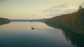 Forest Lake almacen de metraje de vídeo