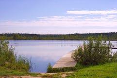 Forest Lake Royaltyfri Fotografi