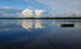 Forest lake - Karelia Royalty Free Stock Image