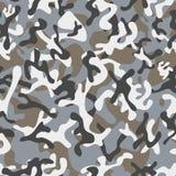 Forest Leaf Camouflage sömlösa modeller Royaltyfria Bilder