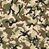 Forest Leaf Camouflage sömlösa modeller Arkivfoto