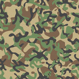 Forest Leaf Camouflage seamless patterns Stock Image