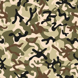 Forest Leaf Camouflage seamless patterns Stock Photos