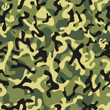 Forest Leaf Camouflage seamless patterns Stock Images
