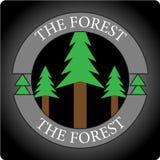 FOREST LOGO royaltyfri fotografi
