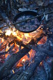 Forest Lunch, Camping, Outdoor, Hike. Forest, Camping, Outdoor fire bonfire Adventure Hike Hiking Outdorlife Wild Wildfood Lunch royalty free stock photo